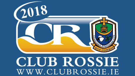 2018 Club Rossie Car Sticker