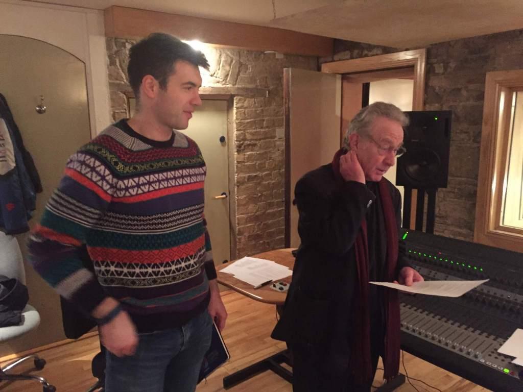 Ian Kilbride radio recording