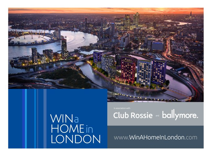 Club Rossie Live Win a Home in London